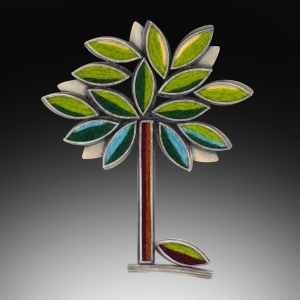 Perfect Tree Brooch